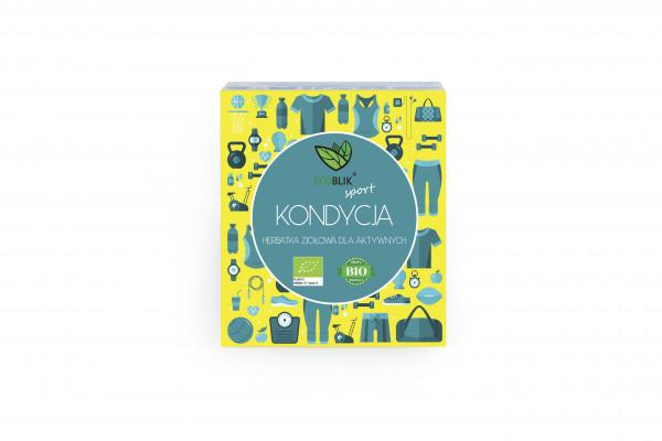 Herbata ecoblik ziołowa eksp.kondycja eko