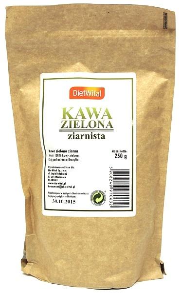 Kawa Dietwital zielona ziarnista