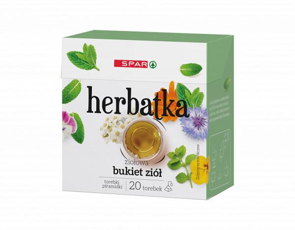 Spar herbata piramidka ziołowa bukiet ziołowy 20tx2g