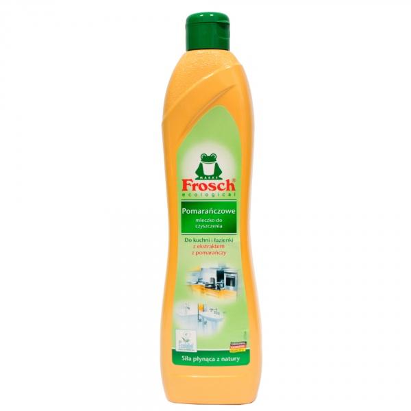 Frosch mleczko do czyszczenia pomarańczowe