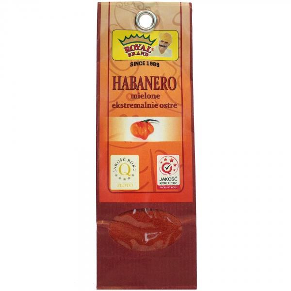 Papryka chili habanero mielona