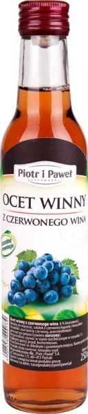 Piotr i Paweł - ocet winny czerwony 6%