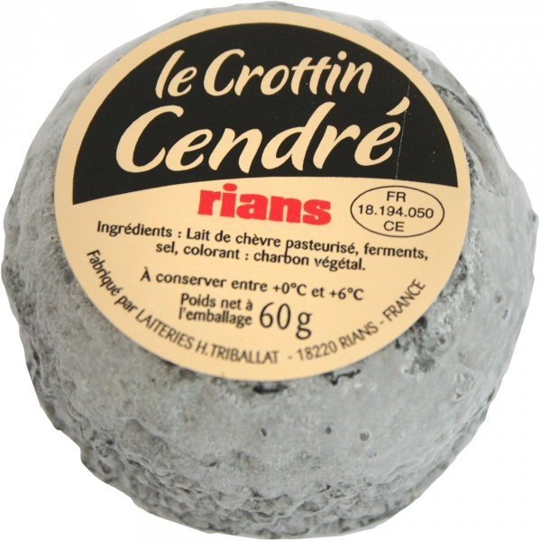 Ser kozi crottin z popiołem.
