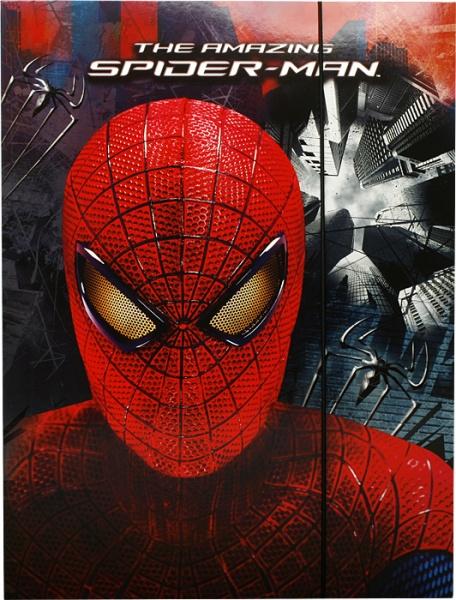 Teczka z gumką A4 amazing spider man