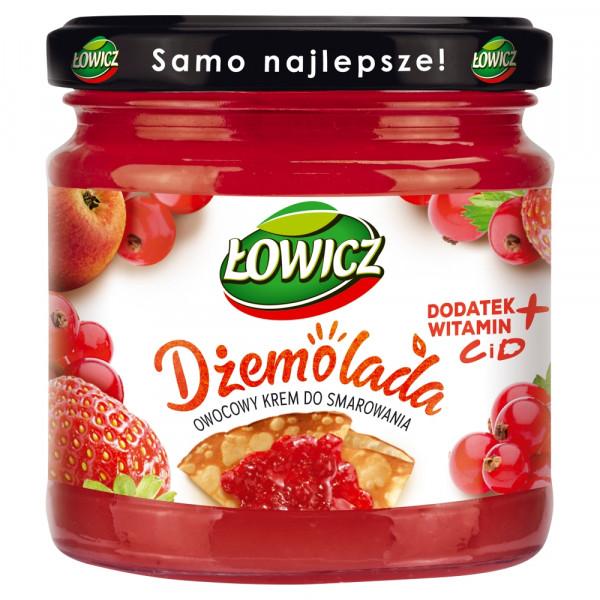 Dżemolada Łowicz owocowy krem do smarowania czerwony