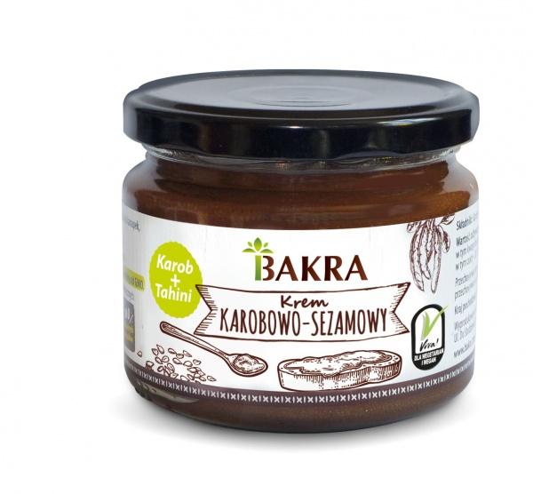 Krem karobowo-sezamowy