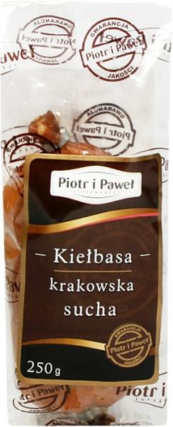 Kiełbasa krakowska sucha wieprzowa Piotr i Paweł