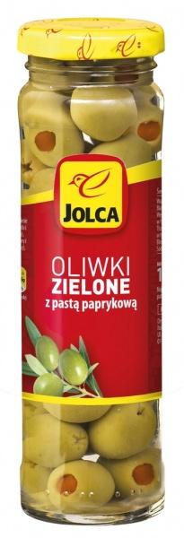 Oliwki Jolca z pastą paprykową