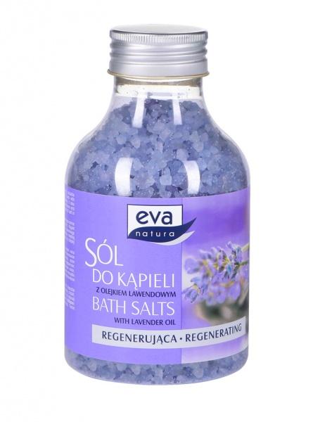 Sól do kąpieli Eva natura regenerująca lawenda