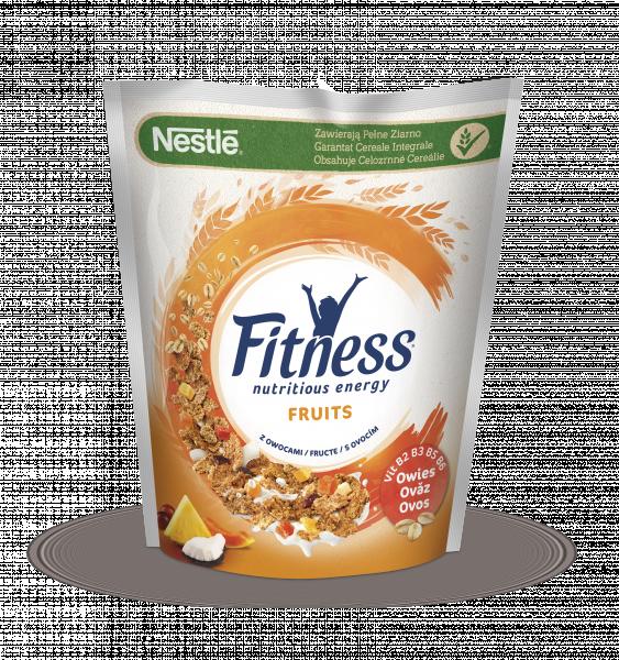 Nestlé Fitness Fruits Płatki śniadaniowe 225 g