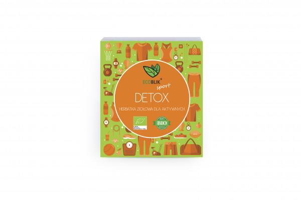 Herbata ecoblik ziołowa eksp.detox eko