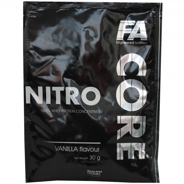 Fa core nitro one serving size vanilla