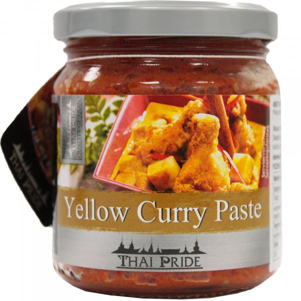 Thai pasta curry żółta