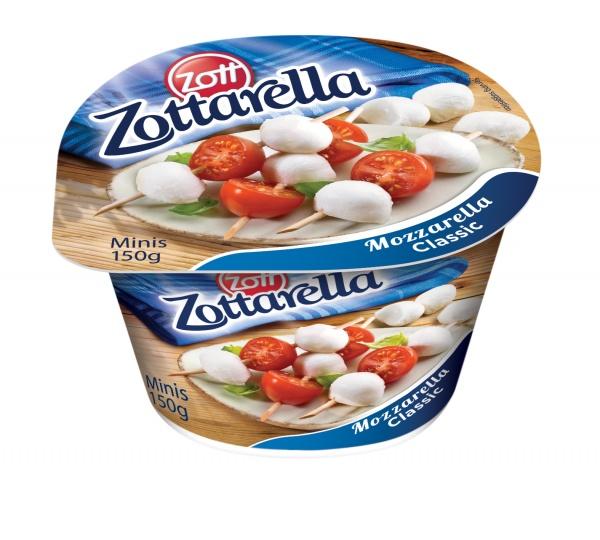 Zottarella minis classic.