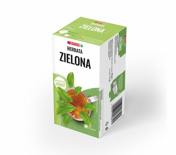 Spar herbata zielona 20 torebek x 1,5g