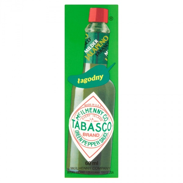 Sos Tabasco zielony papryka