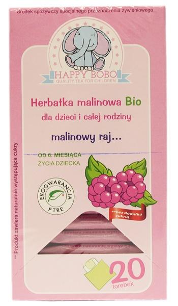 Herbatka Happy Bobo Malinowa Bio