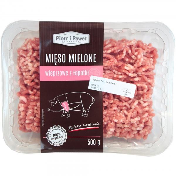 Mięso mielone wieprzowe z łopatki