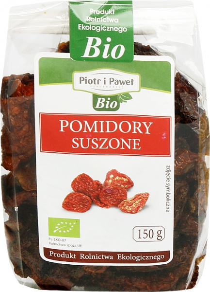 Pomidory suszone bio