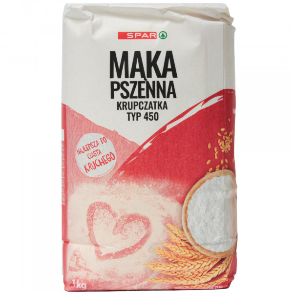 Spar mąka krupczatka typ 500 1kg