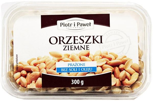 Orzeszki ziemne smażone bez soli Piotr i Paweł