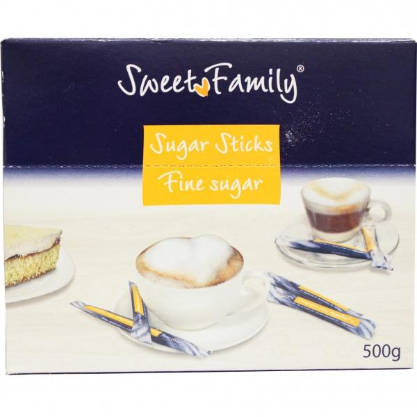 Cukier w saszetkach sweet family