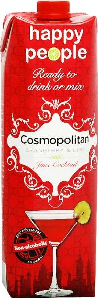 Napój do drinków happy people cosmopolitan