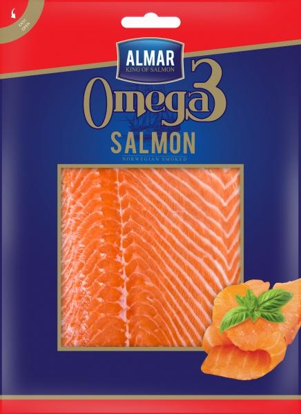 Łosoś wędzony omega-3 plastry
