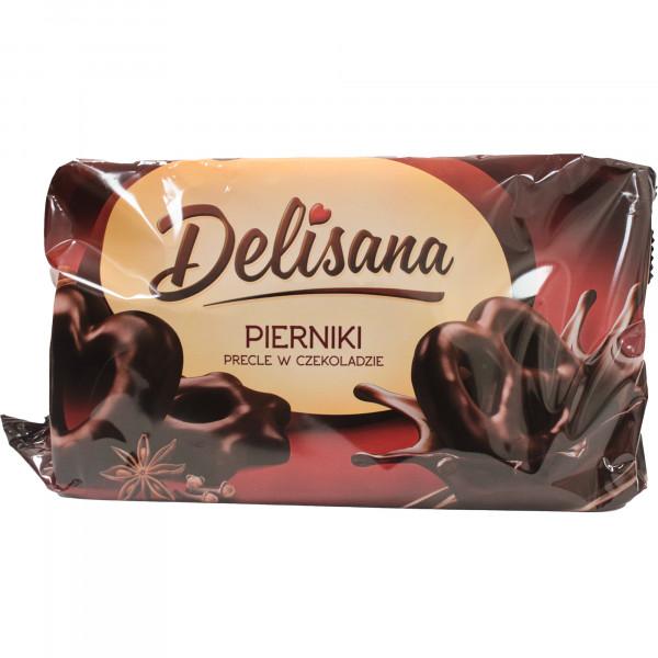 Pierniki Delisana precle w czekoladzie