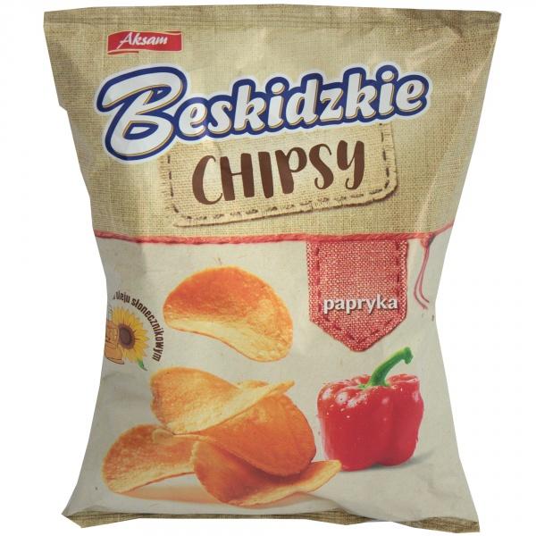 Chipsy beskidzkie paprykowe