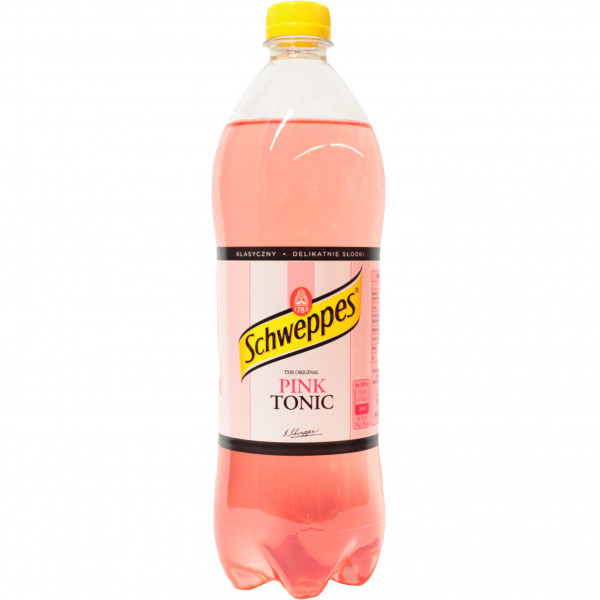 Napój Schweppes tonic pink