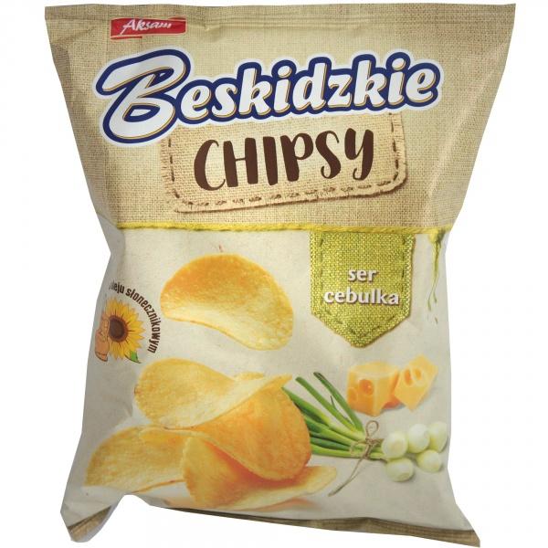Chipsy beskidzkie ser cebulka