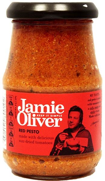 Pesto czerwone z suszonych pomidorów Jamie Oliver