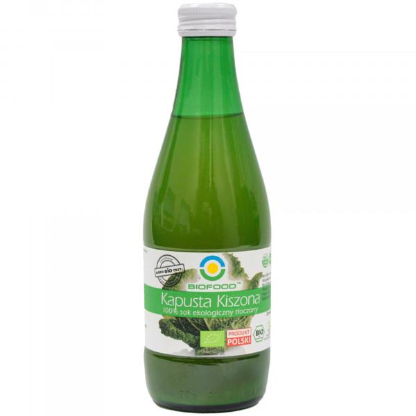 Ekologiczny sok z kapusty kwaszonej
