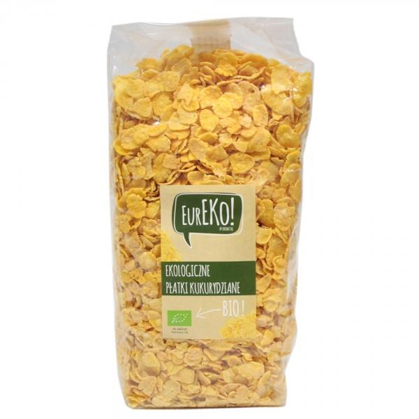 Płatki kukurydziane bio - Eureko