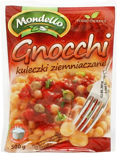 Gnocchi kuleczki ziemniaczane