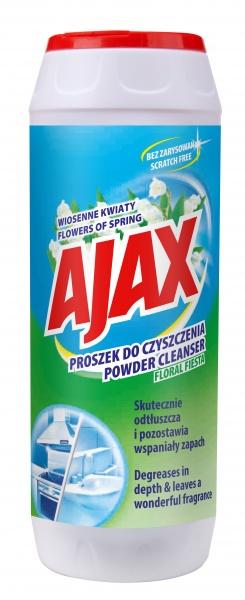 Proszek do czyszczenia ajax zielony
