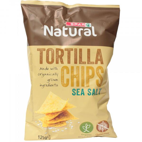 Spar chipsy tortilla sól morska bio