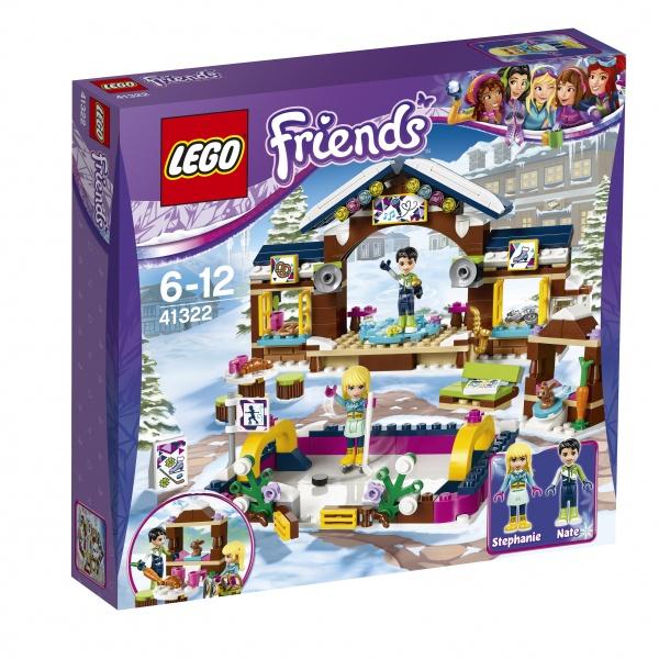 Klocki LEGO Friends Lodowisko w zimowym kurorcie 41322