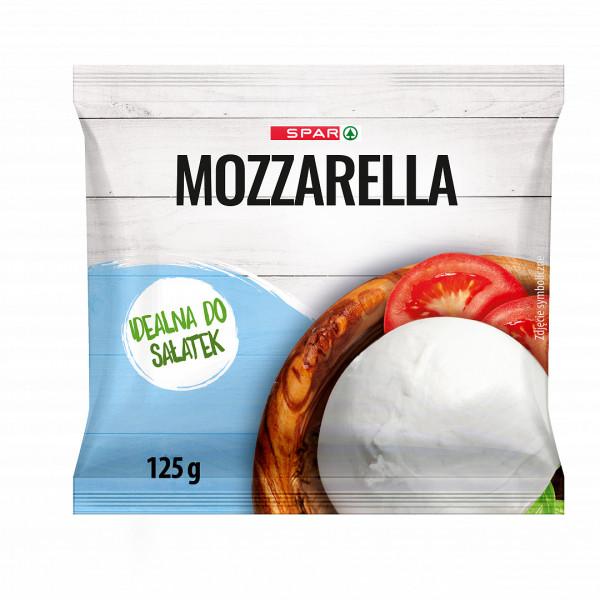 Spar ser mozzarella w zalewie
