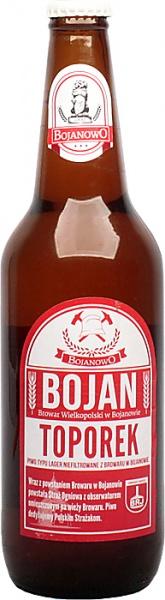 Piwo bojan toporek butelka