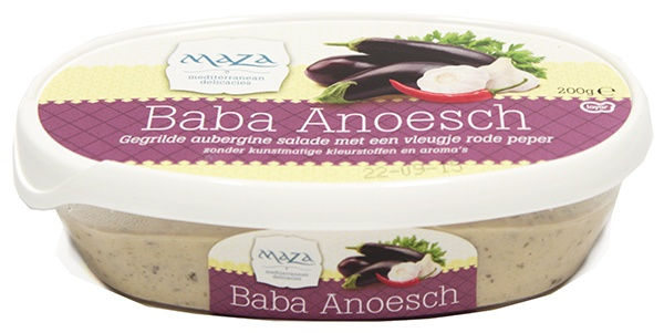 Baba Anoesch Maza pasta z grilowanym bakłażanem