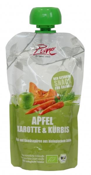 Ekologiczny Mus jabłko,marchew,dynia Pure