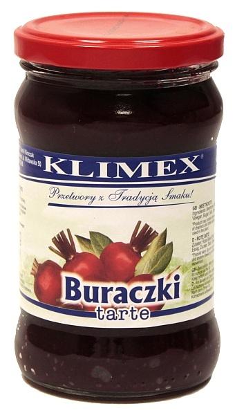 Buraczki tarte Klimex