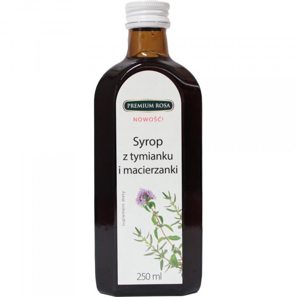 Syrop Premium Rosa z macierzanki i tymianku