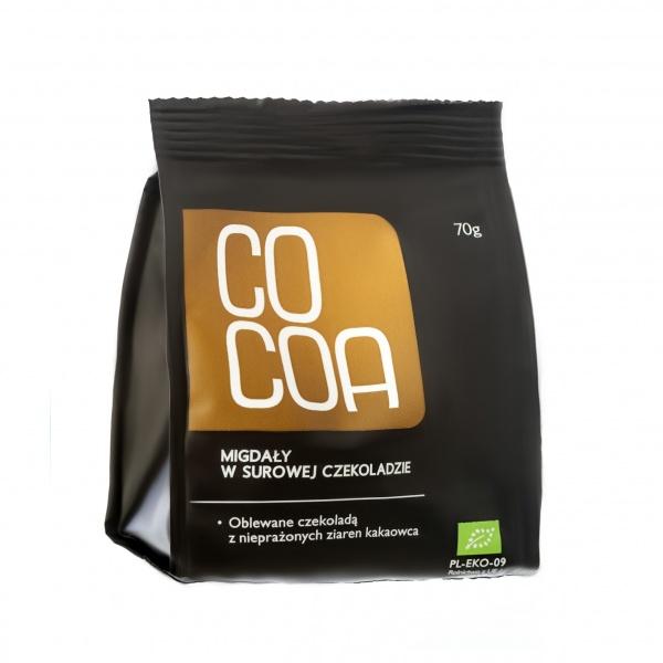 Migdały w surowej czekoladzie-cocoa