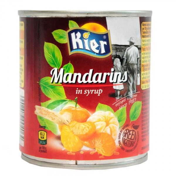 Mandarynka w syropie