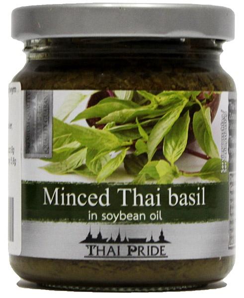 Bazylia tajska w oleju sojowym