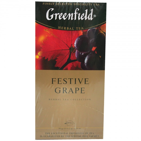 Herbata Greenfield Festive Grape