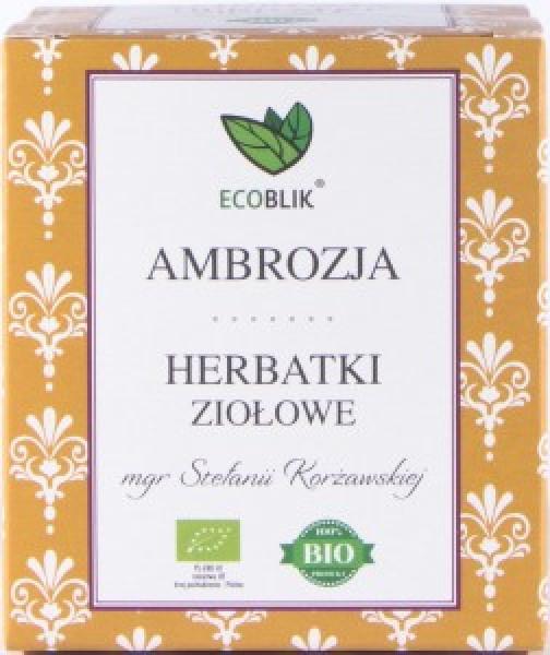 Herbata ecoblik ziołowa eksp.ambrozja